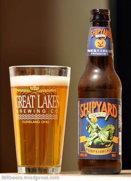 Resultado de imagem para Shipyard Pumpkinhead Ale.